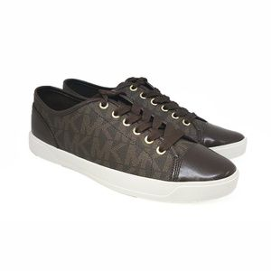 Michael Kors City Sneakers Brown 10 M